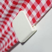 2 шт./компл. клей для фиксации душ зажимы для занавесок U Форма держатель фиксированного клипса для бытовой Ванная комната Ванна украшения Аксессуары