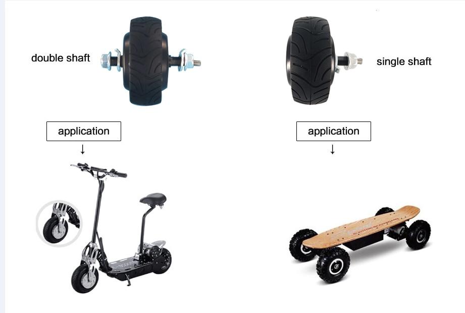 3 դյույմ էլեկտրական հեծանիվ հանգույց - Հեծանվավազք - Լուսանկար 2