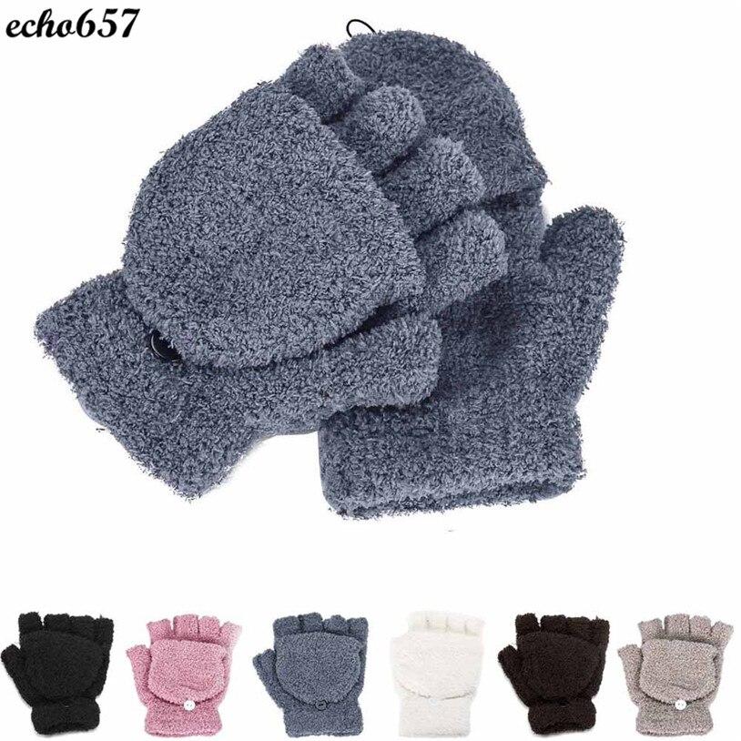 Echo657 Girls Women Ladies Hand Wrist Warmer Winter Fingerless Gloves Mitten Oct 21 PY