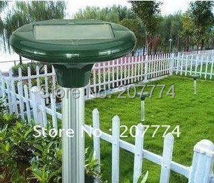 Solar Powered Ultrasonic Rodent Mouse Rat Pest Repeller Free shipping with Tracking Number