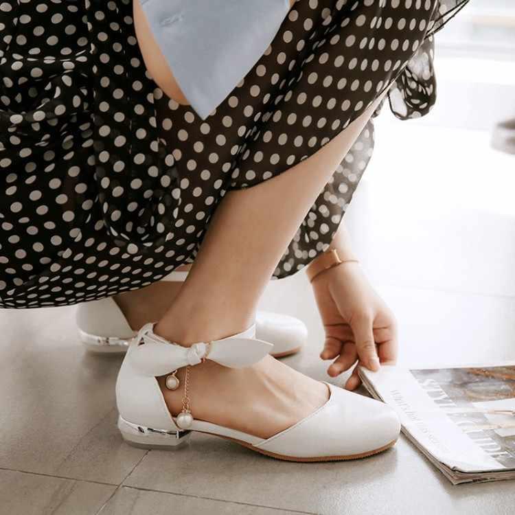 גדול גודל 11 12 13 עקבים גבוהים סנדלי נשים נעלי אישה קיץ גבירותיי באוטו מים תרגיל bowknot עם אחד- מילת אבזם לעטוף העקב