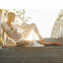 Summer lace dress white robe sexy maxi dress summer style