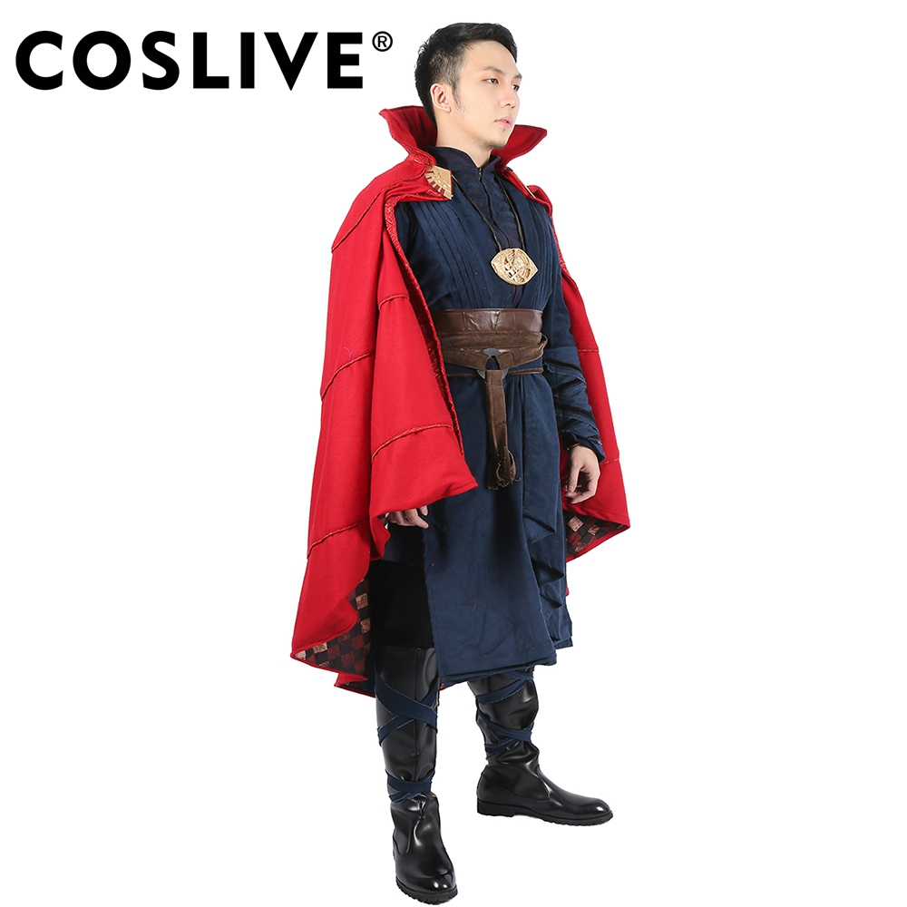 Coslive Hollywood Movie Doctor Strange Outfits Full Set -4441