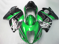 Free 7 Gifts Fairing Kit For Suzuki GSXR1300 96 97 98 99 00 01 07 Green