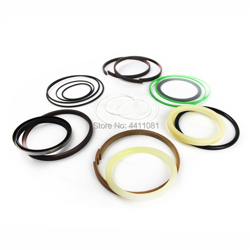 For Komatsu PC120-6E Bucket Cylinder Repair Seal Kit 707-99-25870 Excavator Service Gasket, 3 month warranty high quality excavator seal kit for komatsu pc60 7 bucket cylinder repair seal kit 707 99 26640