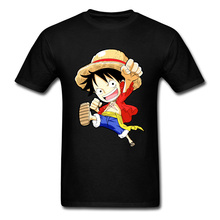 Pirate King Monkey D Luffy Tshirt One Piece Thousand Sunny Super Anime Funny Men T Shirts Hokage Naruto My Hero Academia