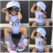 Kids Baby Girl Clothes Summer Cotton Romper Jumpsuit 1PCS Outfits Casual 6-18M