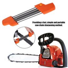 Chain Saw Sharpener Easy File Chainsaw Chain Sharpener Replacement Chain Grinding Tool For Garden Chain Saw Sharpener Garden Too недорого