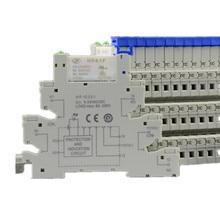 Thin Type Din Rail Mount Modular Relay HF41F 24-ZS 41F-1Z-C2-1 HF41F-24-ZS Simil
