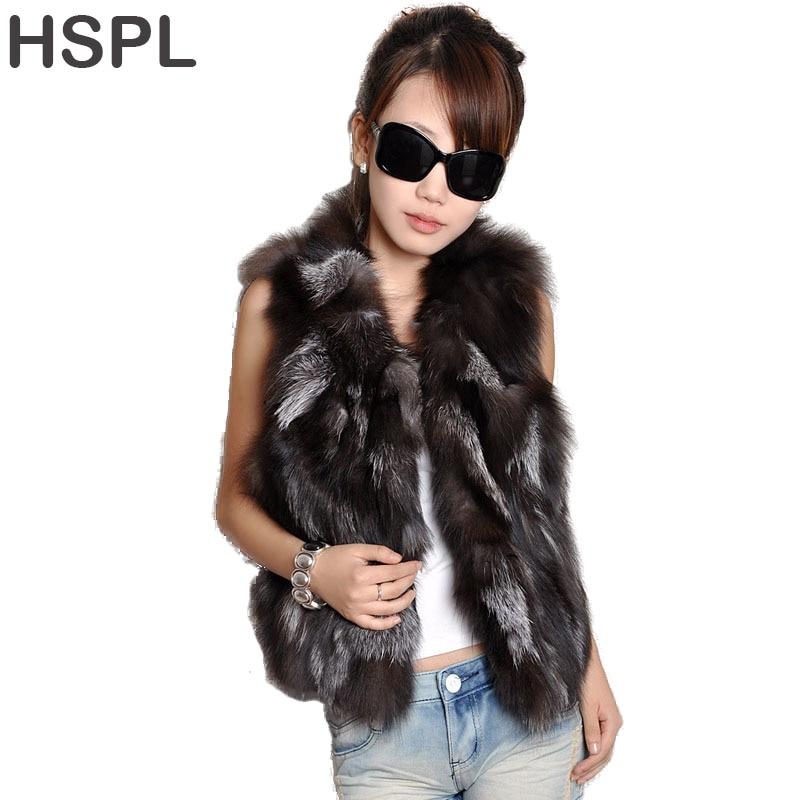 Pele de raposa gilet 2017 real pele curta feminino natural inverno feminino genuíno colete de pele feminina real curto colete de pele