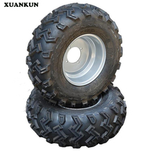 XUANKUN  Karting ATV 22X8-10 After 22X11-10 Inch W Pattern Vacuum Tire Wheel Hub Assembly
