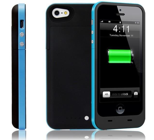 imágenes para 2500 mah para apple iphone 5 5s 5c se caja de batería ultra delgada cubierta del cargador de reserva para apple iphone 5 5s 5c se inteligente banco de la energía