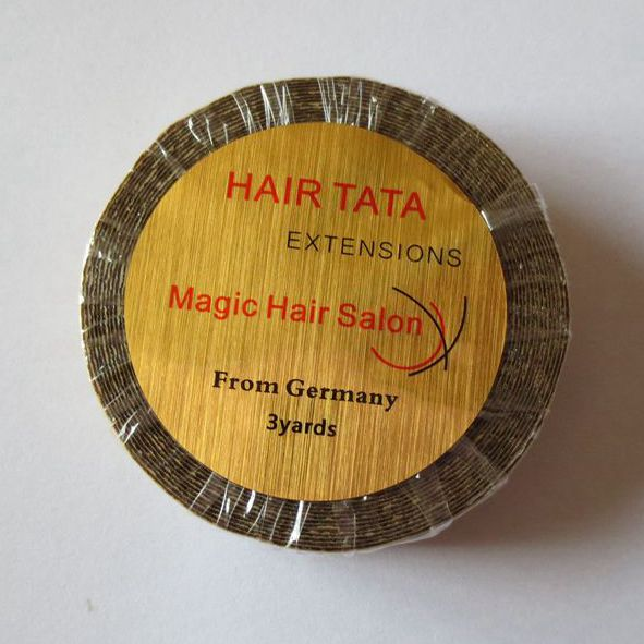 1.27cm*3 yards Hair TATA extensions tape lace front tape Magic Hair Salon from Germany great spaces home extensions лучшие пристройки к дому