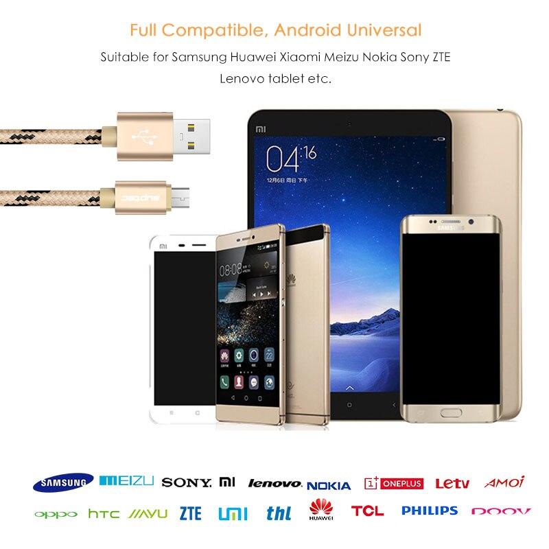 Cable micro USB SUPTEC, cable de cargador de teléfono móvil con - Accesorios y repuestos para celulares - foto 6