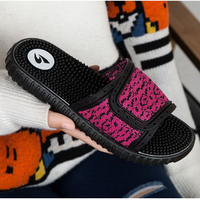 170613/Massage slippers / female summer acupuncture health foot massage non-slip massage shoes / indoor cool slippers