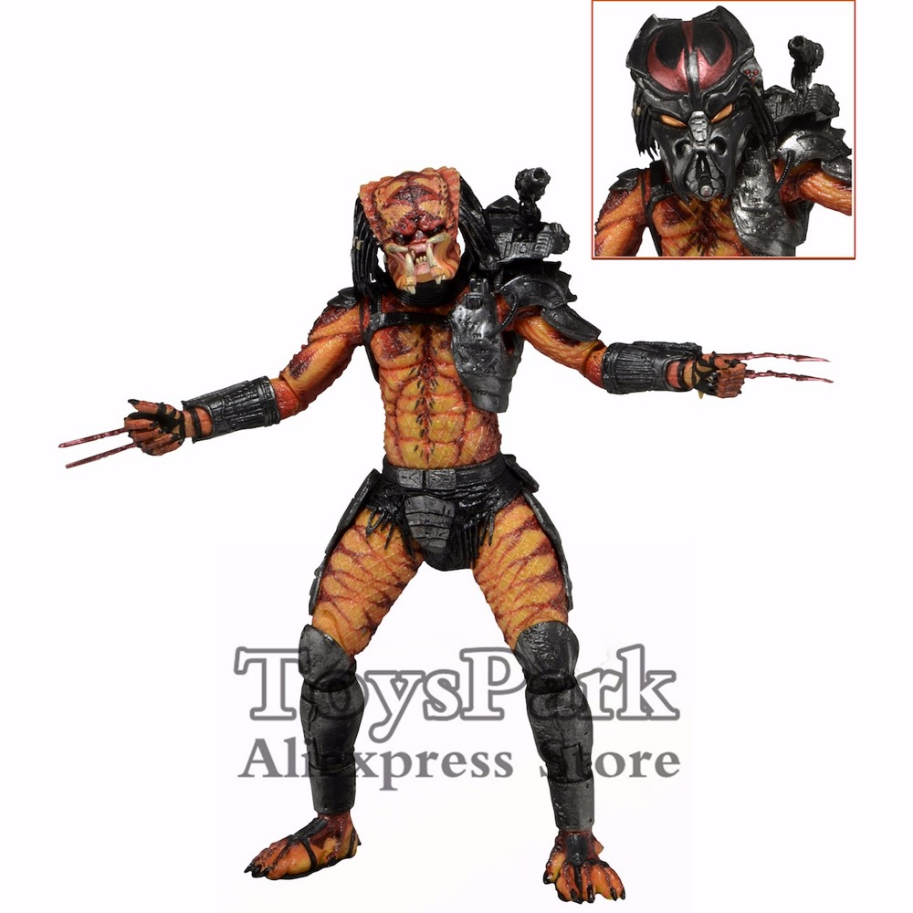 ToysPark Predator 7 VIPER Action Figure Ultimate Alien Hunter 2014 NECA Predator Series 12 Collectible New In Box free shipping neca p1 7 soldier set classic predator 21cm alien hunter primevil avp