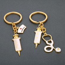 MQCHUN Syringe Stethoscope Keychain Bag Key Chain For Cosplay Doctor Nurse Physicians Medical Student Graduation Jewelry Gifts patrizio capasso medical imaging essentials for physicians