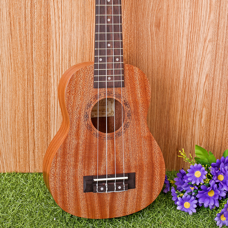 21-7 21 Ukulele Mahogany Acoustic guitar Rosewood Fretboard 4-strings guitarra musical instruments Wholesale hot 36 acoustic guitar 36 6 guitarra musical instruments with guitar strings