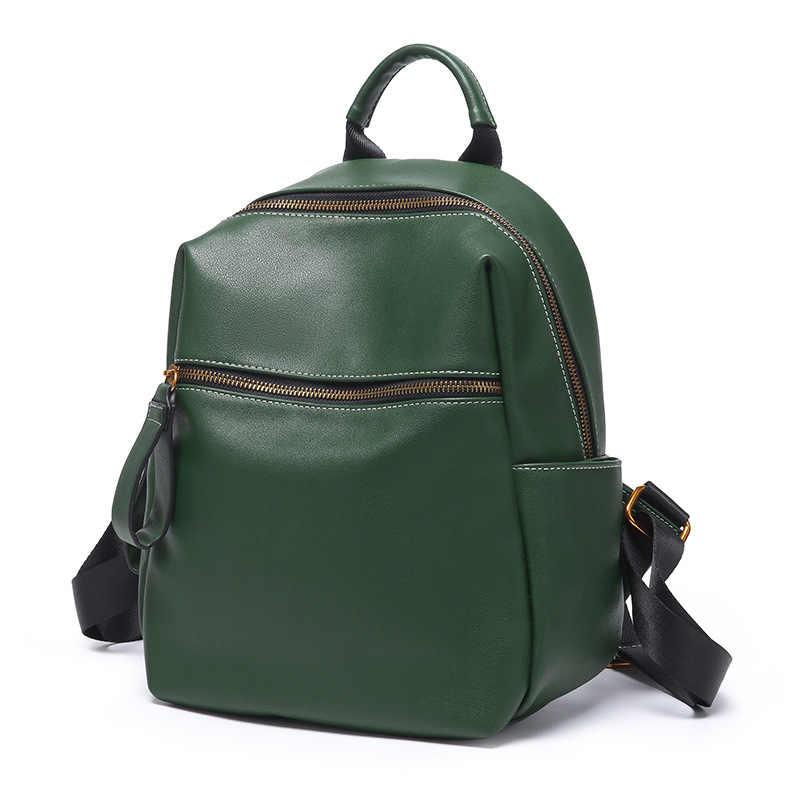Kadın sırt çantaları deri sırt çantası sırt çantası kore dalga moda çanta eğlence omuzdan askili çanta kadın okul çantası kızlar C959
