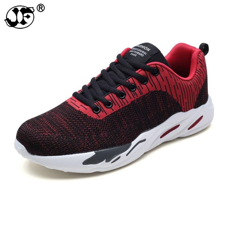 2018 new summer mens casual shoes, Korean flying jogging shoes, jogging mens shoes