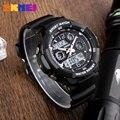 Skmei niños estudiantes de deporte moda casual relojes de cuarzo digital led resistente al agua reloj de los deportes para las muchachas del muchacho niños reloj de pulsera