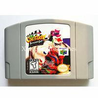Nintendo n64 jogo argila lutador-cut cartão cartucho de videogame de console do escultor idioma inglês versão dos eua
