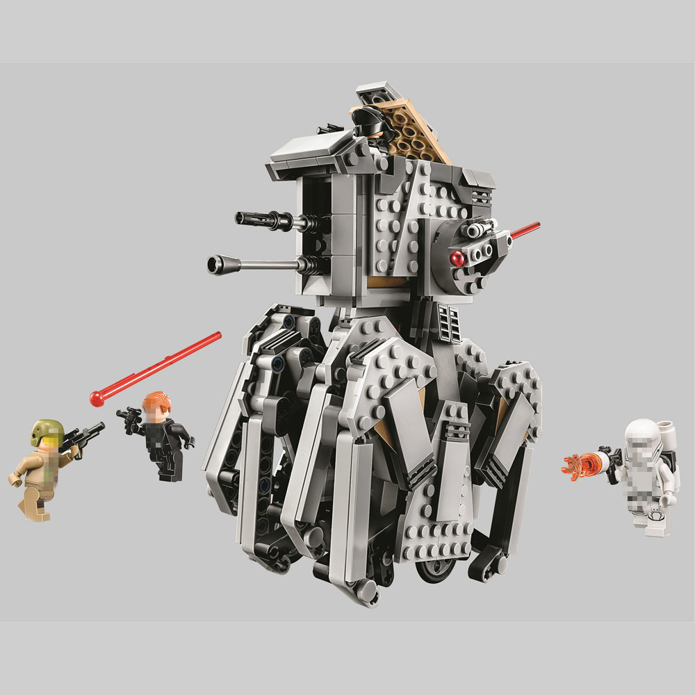 BELA Star Wars First Order Heavy Scout Walker Building Blocks Kit Bricks Sets Classic Movie Model Kids Toys Compatible Legoe new bela 10377 star wars wookiee gunship model building blocks sets wullffwarro kanan bricks