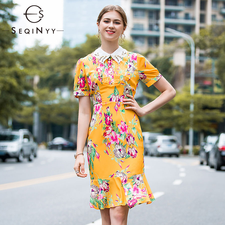 Buy embroidered dress yellow and get free shipping on AliExpress.com bbb02652b7ec