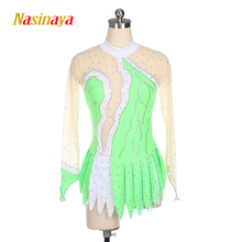 Customized Rhythmic Gymnastic Dress Leotards Dance Costume Bodysuit Artistic Gymnastics Training Performance Child Adult Girl