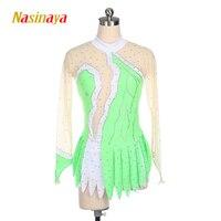 Customized Rhythmic Gymnastic Dress Leotards Dance Costume Bodysuit Artistic Gymnastics Training Performance Child Adult Girl