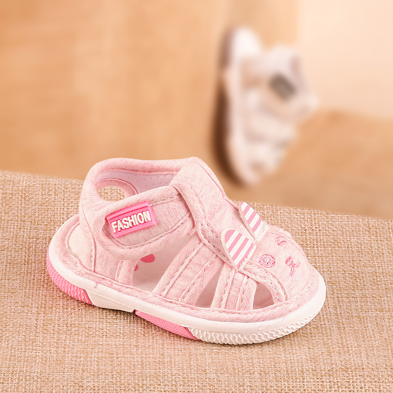 Phynier summer men and women baby toddler sandals called shoes baby soft-soled shoes cartoon