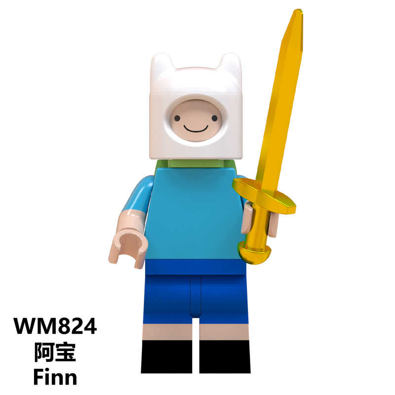Elliott Ponto ET Estrangeiro Gremlins Gizmo Angie Stay Puft Sonic Tarja Legoe WM819 Minifigured Tijolos de Construção Brinquedos para Crianças