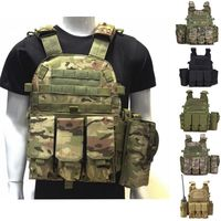 Tactical Vest Military Molle Vest Outdoor Hunting Shooting Wargame CS Military Gear Army Combat Airsoft Protection Vest
