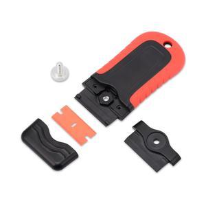 Image 5 - FOSHIO Plastik Jilet Kazıyıcı + 5 adet Blade Pencere Tonu vinil araç örtüsü Tutkal şerit etiket Sökücü Seramik Cam Evi Temiz Silecek