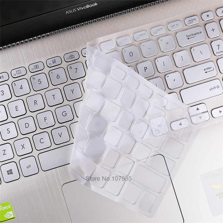Clear Keyboard cover Protection Clavier pour ASUS Vivobook,Peau Couverture Clavier 15 6 Pouces pour ASUS Vivobook 15 X512Fl X512Uf X512Ua X512Fa X512Da X512Ub F512 F512U F512Da X512 Y5000U