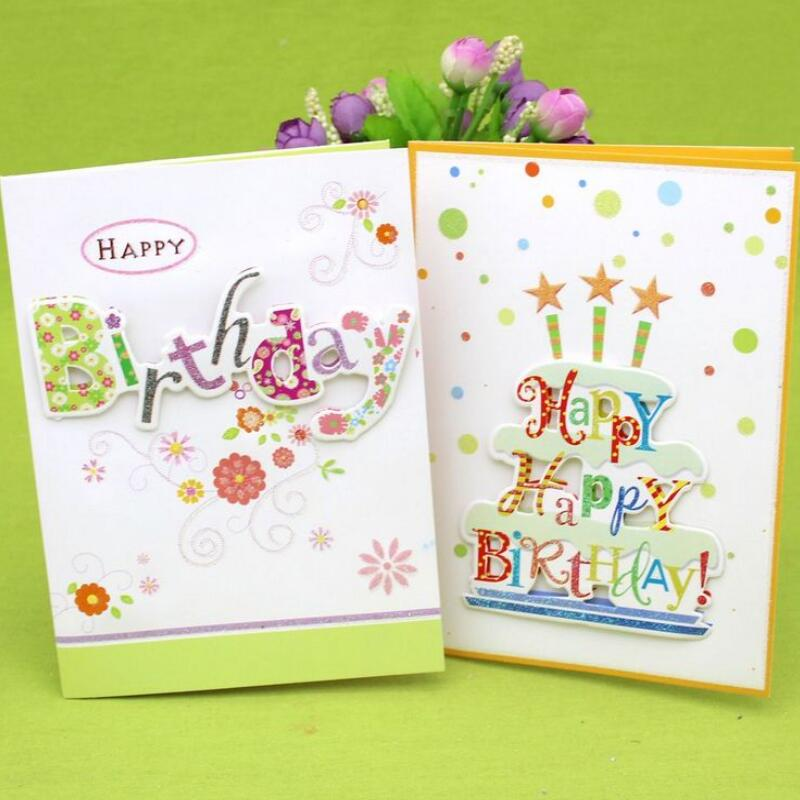 10 Pcs Lot 3d Folding Music Cards Handmade Birthday Greeting Card