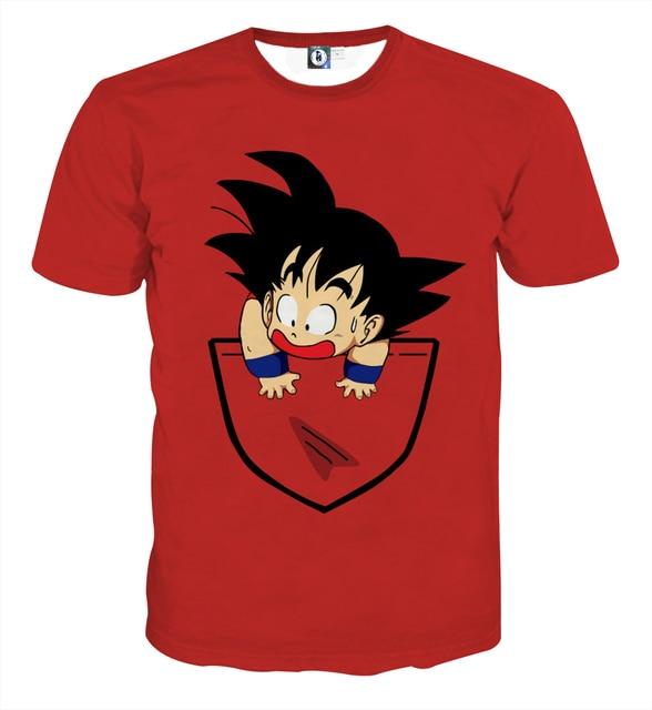 Dragon Ball Z T-shirt (5 New Designs)