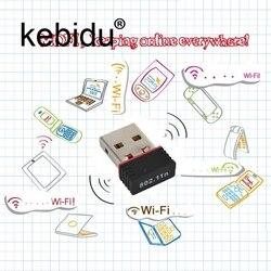 Kebidu Мини USB Сетевая LAN Карта 150 Мбит/с WiFi беспроводной адаптер 802,11 n/g/b RT для телефона для ПК