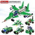 Montagem E Desmontagem de Metal Crianças Iluminismo Série Veículo de Engenharia Liga Brinquedo Modelo de Blocos de Construção Do presente do Natal