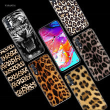 Tiger Leopard Print Case for Samsung Galaxy A50 A70 A80 A60 A40 A30 A20 A10 M30 M20 M10 A6 A8 Plus A5 A7 A9 2018 TPU Phone Cover(China)