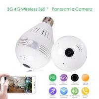 YSA 3G 4G SIM Card Mobile IP Camera Mini Lamp WIFI Camera 1080P HD Bulb Light