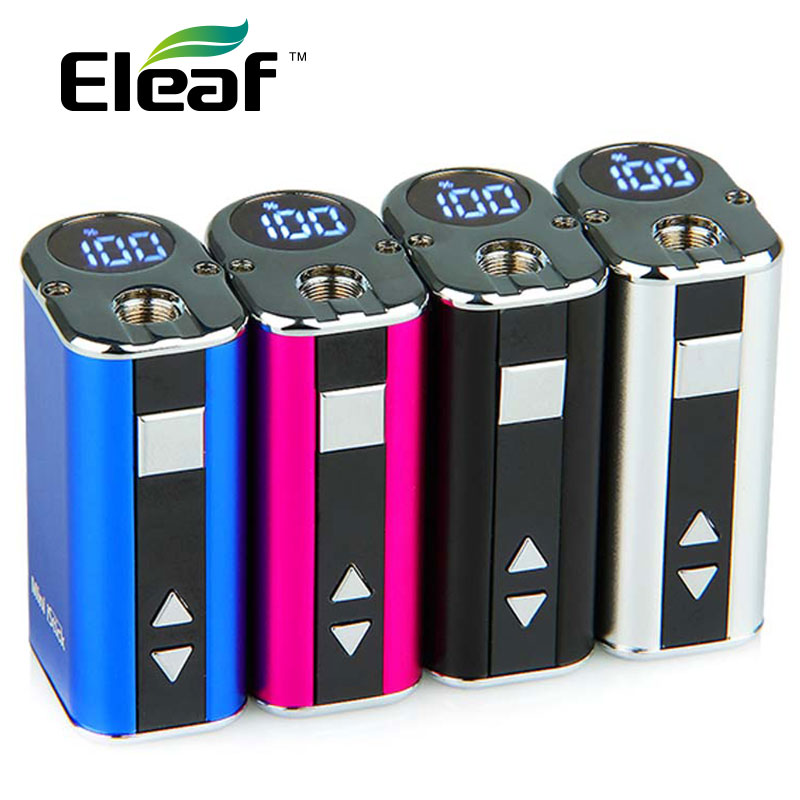 Original Eleaf Mini Istick 10W 1050mAh With LED Screen Exquisite Portable Mini Mod Battery 1050mAh Fit For GS Tank Atomizer