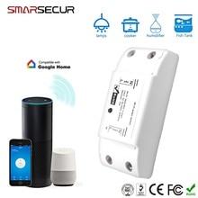 Interruptor Wifi Wi-Fi DIY inalámbrico remoto Domotica luz inteligente hogar automatización relé módulo controlador trabajo con Alexa
