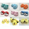 8 Estilos Pokemon Pikachu de la Felpa Eevee Felpa Zapatos Zapatillas Suaves de Peluche De felpa adultos zapatillas zapatos