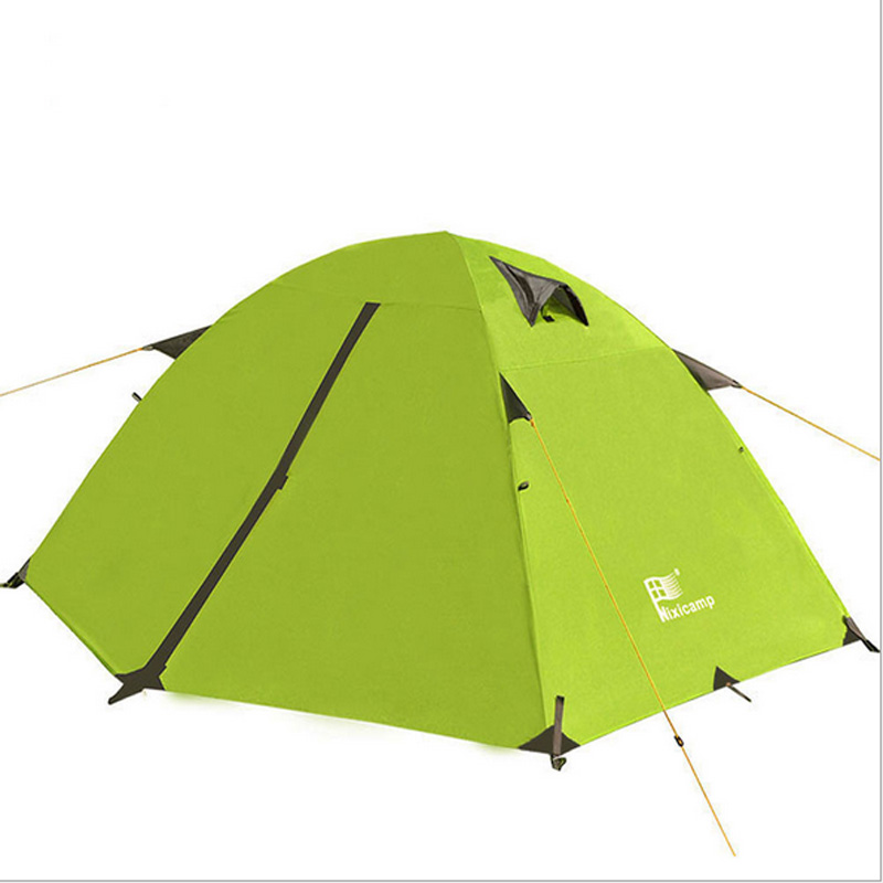 ФОТО Good quality Mountain hiking double layer 2 person 4 season aluminum rod outdoor camping tent Topwind 2 PLUS with snow skirt