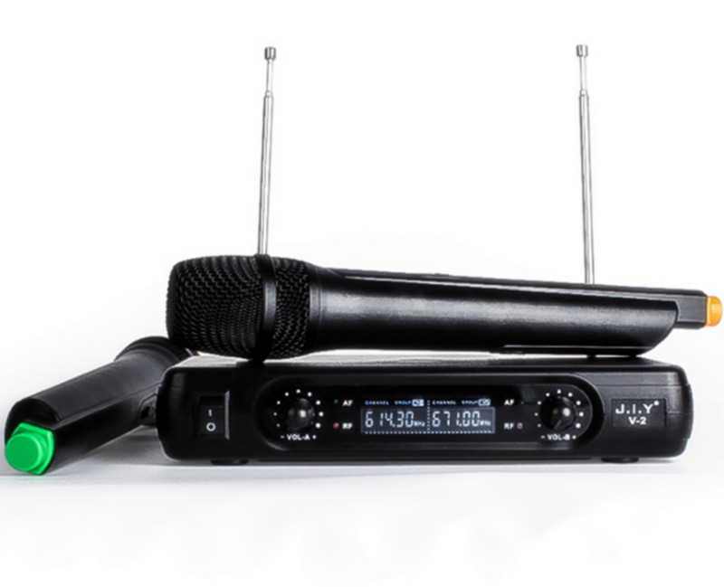 Handheld Wireless Karaoke Mikrofon Karaoke player Startseite Karaoke Echo Mixer System Digital Sound Audio Mixer Singen Maschine V2 +