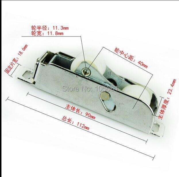 8024 разрушенный мост двери из алюминиевого сплава и аксессуары для окон может chang двери из алюминиевого сплава и окна приводной ремённой шкив