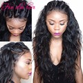 Hot sale Glueless Lace Front wig virgin hair natural hairline Brazilian Loose Wave Full Lace human hair wigs for black women