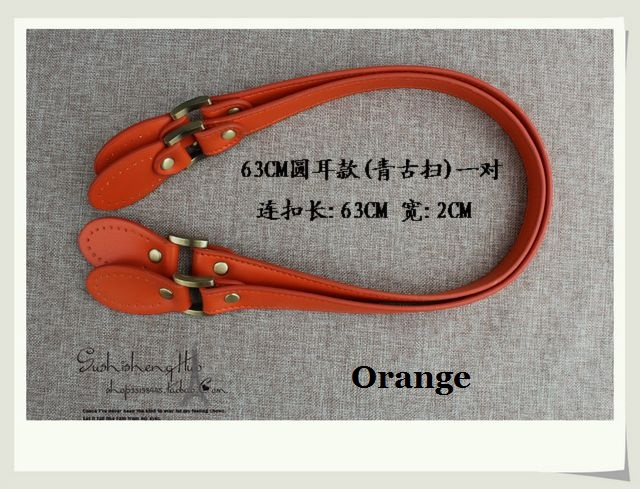 cd92a33244 High quality double sides PU leather handbag handle