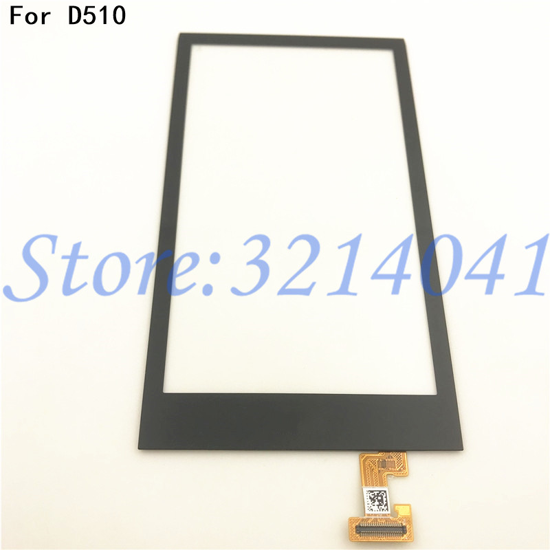 Front glas touch <font><b>screen</b></font> Für <font><b>HTC</b></font> <font><b>Desire</b></font> <font><b>510</b></font> D510 Touchscreen Sensor Digitizer LCD Display Äußere Glas image
